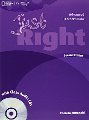 Just Right Advanced Teacher's Book & Class Audio CDs 2nd ed