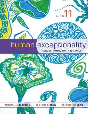 Human Exceptionality : School, Community, and Family