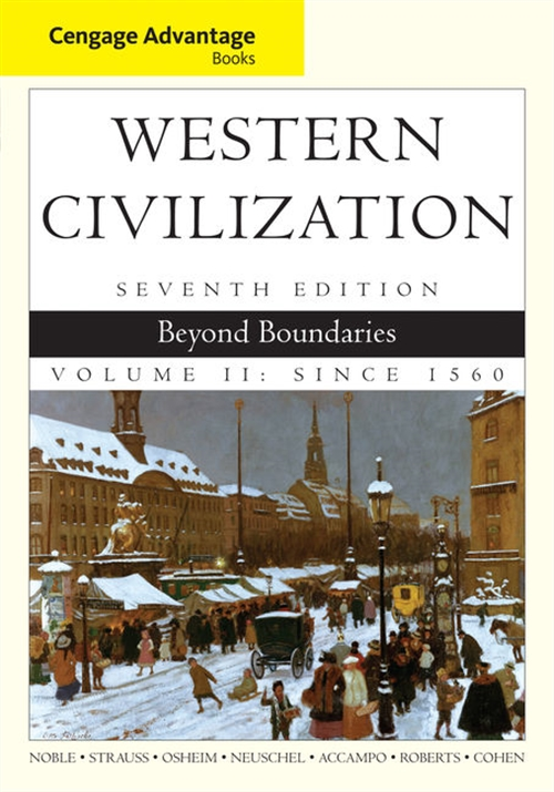 Cengage Advantage Books: Western Civilization : Beyond Boundaries,  Volume II