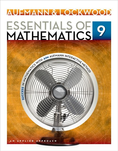 Essentials of Mathematics : An Applied Approach