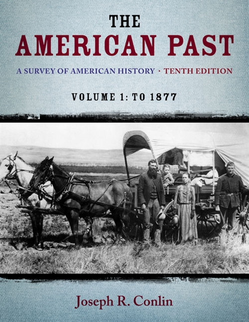 The American Past : A Survey of American History,  Volume I: To 1877