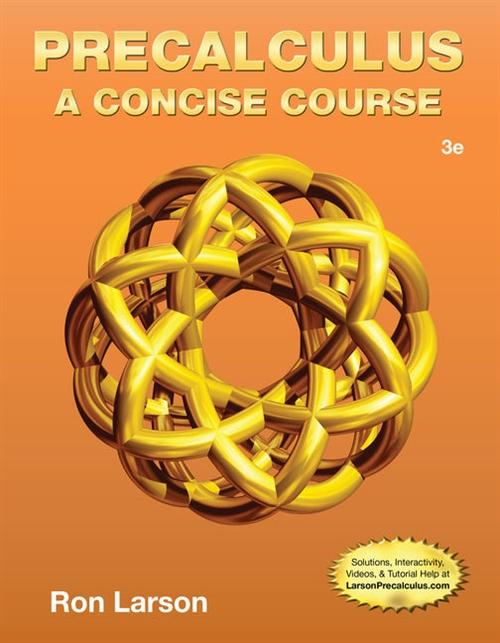 Precalculus : A Concise Course