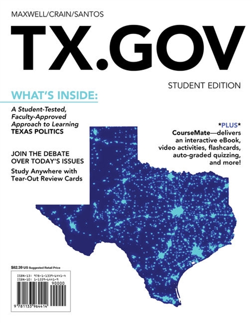 TX.GOV (with CourseMate Printed Access Card)