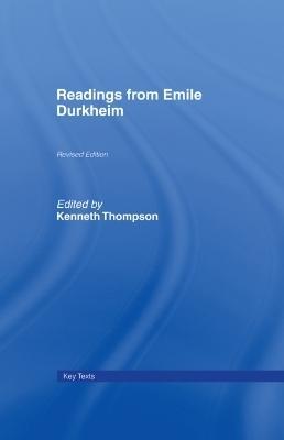 Readings from Emile Durkheim