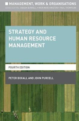 Strategy and Human Resource Management