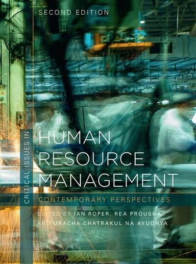 Critical Issues in Human Resource Manage
