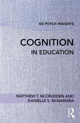 Cognition in Education