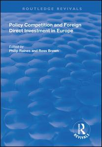 Policy Competition and Foreign Direct Investment in Europe
