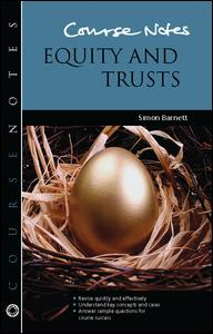 Course Notes: Equity and Trusts