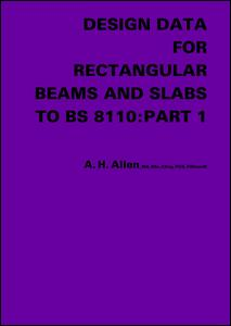 Design Data for Rectangular Beams and Slabs to BS 8110: Part 1