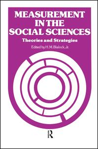 Measurement in the Social Sciences