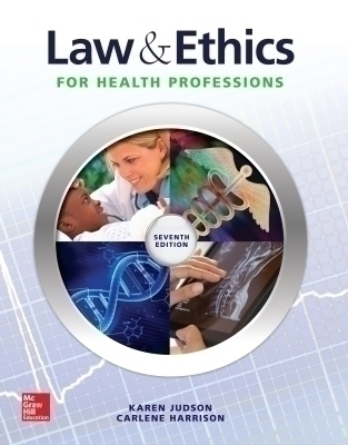 eBook Online Access for Law & Ethics for the Health Professions