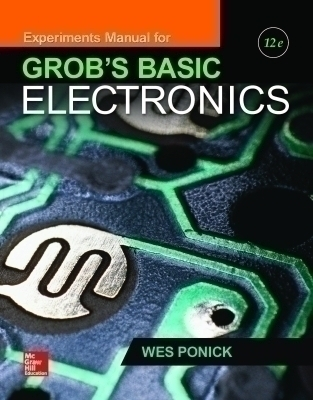 eBook Online Access for Experiments Manual for use with Grob's Basic Electronics