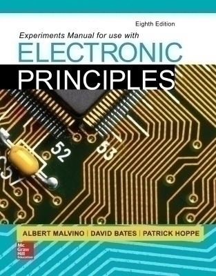 eBook Online Access for Experiments Manual for use with Electronic Principles