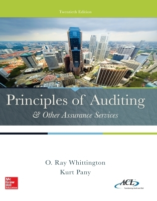 eBook Online Access for Principles of Auditing & Other Assurance Services