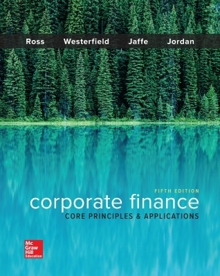 EBOOK ONLINE ACCESS FOR CORPORATE FINANCE: CORE PRINCIPLES AND APPLICATIONS