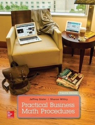 eBook Online Access for Practical Business Math Procedures