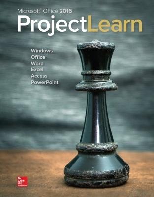 Microsoft Office 2016: ProjectLearn