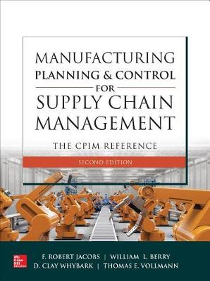 Manufacturing Planning Ctrl Supply Chain Mgmt Cpim Ref