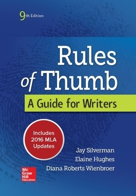 Rules of Thumb 9e MLA 2016 UPDATE