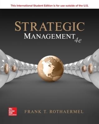 ISE STRATEGIC MANAGEMENT: CONCEPTS