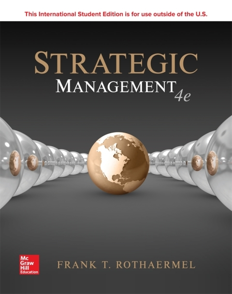 ISE eBook Online Access for Strategtic Management: Concepts