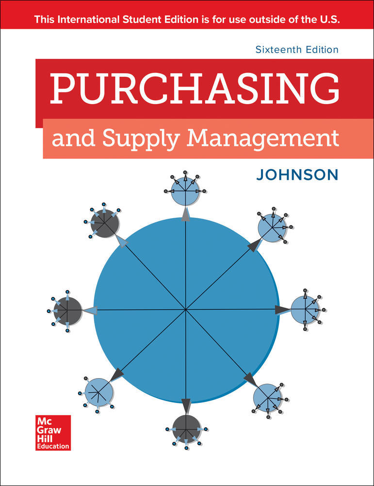 ISE PURCHASING AND SUPPLY MANAGEMENT