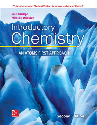 ISE Introductory Chemistry: An Atoms First Approach
