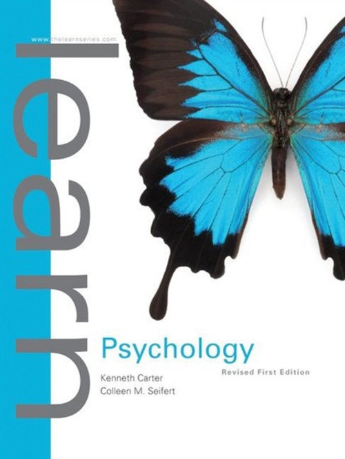 Learn Psychology First Edition Revised