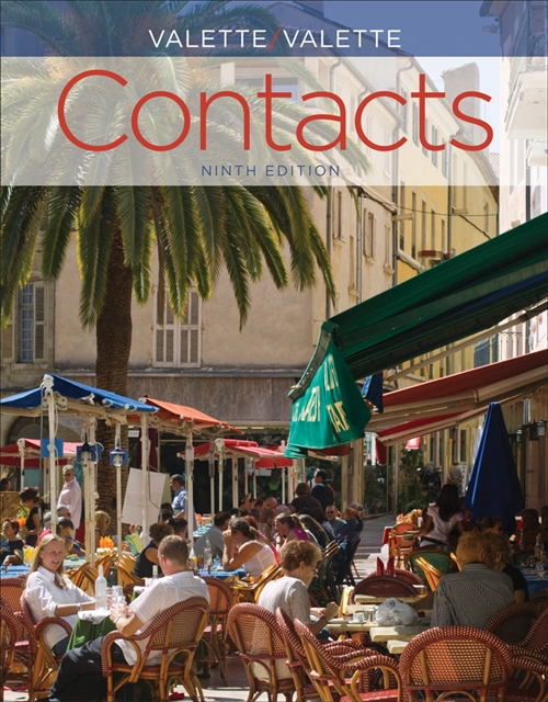 SAM Answer Key with Audio Script for Valette/Valette's Contacts: Langue  et culture fran�aises, 9th