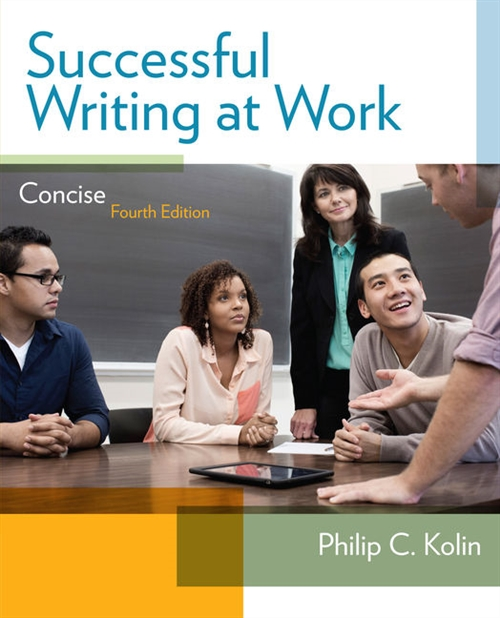 Successful Writing at Work : Concise Edition