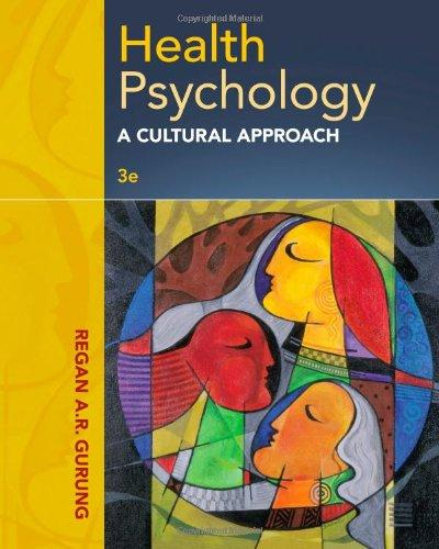 Health Psychology : A Cultural Approach