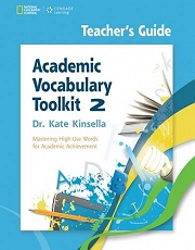 Academic Vocabulary Toolkit 2: Teacher's Guide with Professional Development DVD