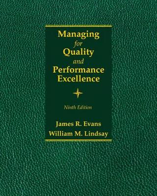 Managing for Quality and Performance Excellence