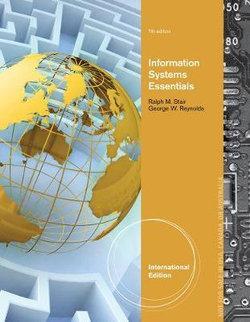Fundamentals of Information Systems, International Edition