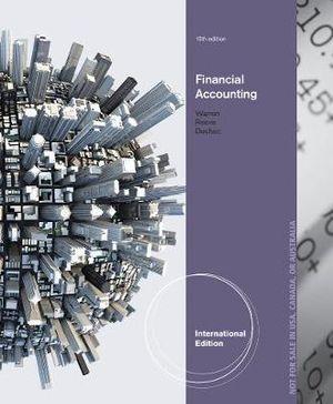 Financial Accounting, International Edition