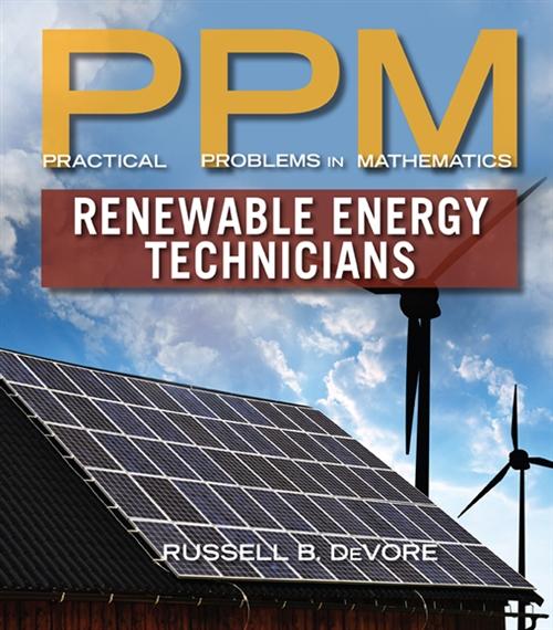 Practical Problems in Mathematics for Renewable Energy Technicians