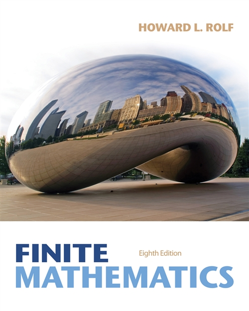 Student Solutions Manual for Rolf's Finite Mathematics, 8th