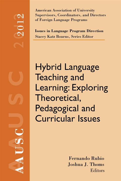 AAUSC 2012 Volume--Issues in Language Program Direction