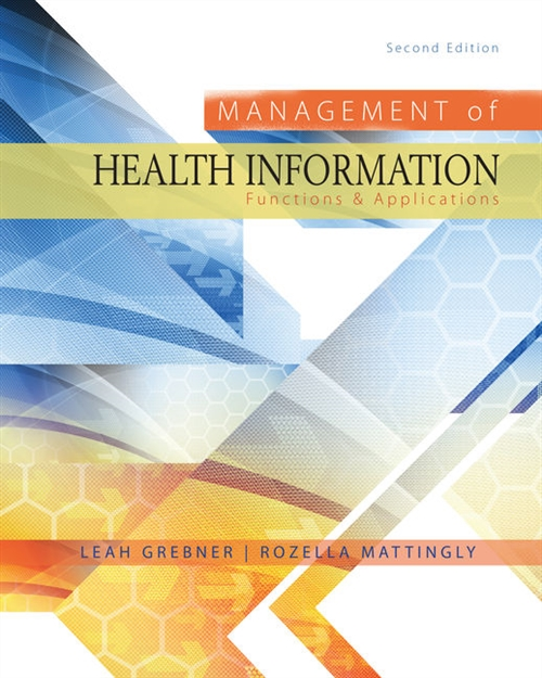 Management of Health Information : Functions & Applications