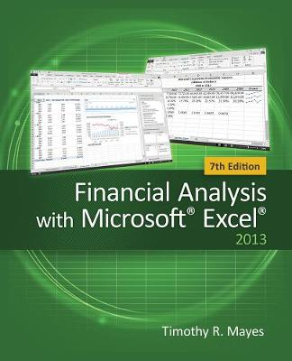 Financial Analysis with Microsoft (R) Excel (R)