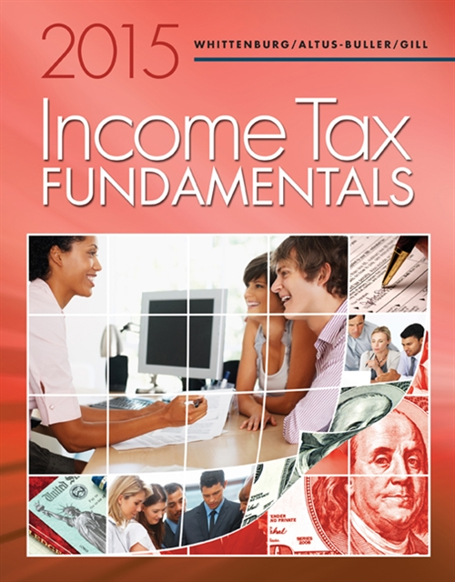 Income Tax Fundamentals 2015 (with H&R Block® Premium & Business  Software CD-ROM)