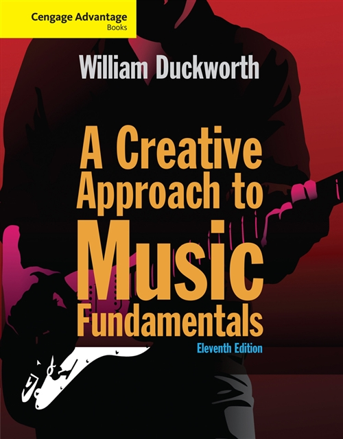 Cengage Advantage: A Creative Approach to Music Fundamentals (with  Keyboard for Piano and Guitar)