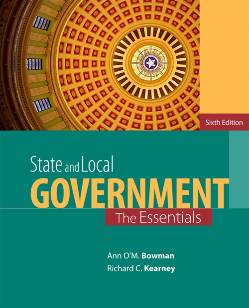 State and Local Government : The Essentials