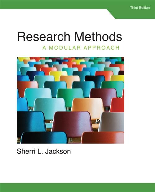 Research Methods : A Modular Approach