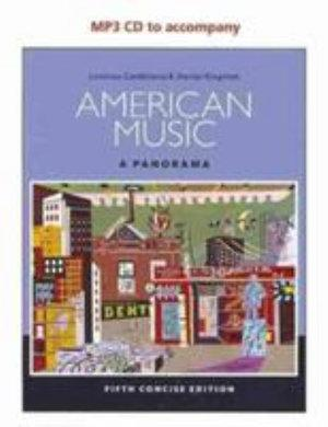 Music CD for Candelaria's American Music: A Panorama, Concise, 5th