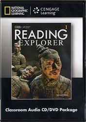 Reading Explorer Level 1 Classroom Audio CD/DVD ( 2nd ed )