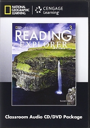 Reading Explorer Level 3 Classroom Audio CD/DVD ( 2nd ed )