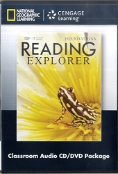 Reading Explorer Foundations Classroom Audio CD/DVD ( 2nd ed )