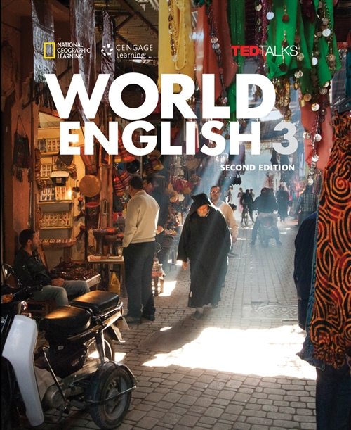 World English with TED Talks 3 - Intermediate - Student Book + CD ROM (2nd Edition)